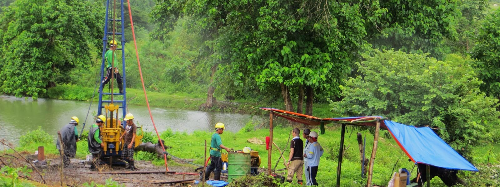 Boreholes and mosquitoes in the Philippines. View More