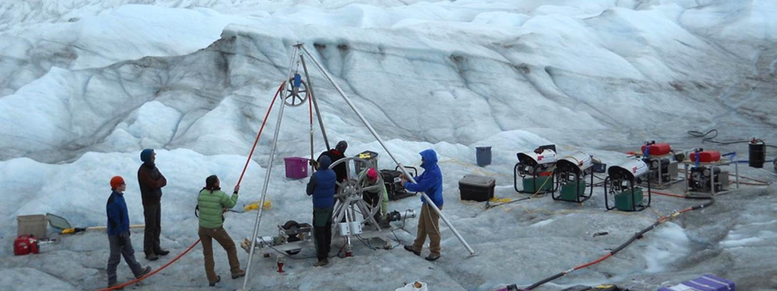 Working in the ice-fields of Greenland : GAP (Greenland Analogue Project) View More